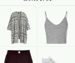 look, moda, and school image