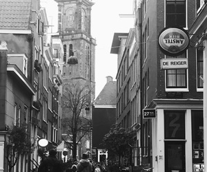 amsterdam, photograph, and black & white image