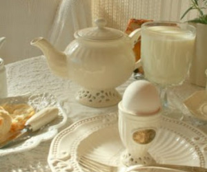 tea time and neutral color image