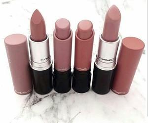 lipstick, mac, and makeup image