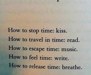breathe, music, and read image