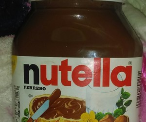 i love nutella, ❤, and 🍫 image