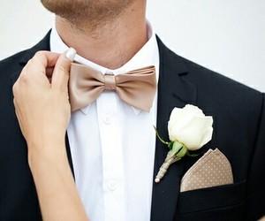 wedding, groom, and love image