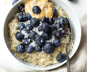 food, oatmeal, and healthy image