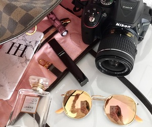 camera, chanel, and girly image