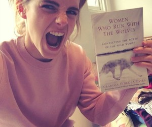 emma watson and book image