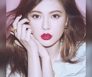 aing, hyuna, and a-ing image