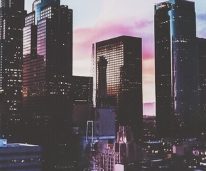 city, wallpaper, and buildings image