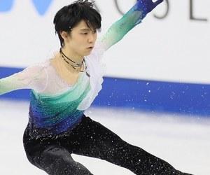 figure skating, yuzuru hanyu, and free skate image