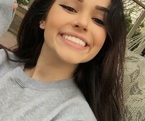 girl, maggie lindemann, and smile image