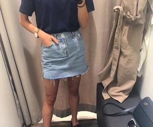 basic, fashion, and skirt image