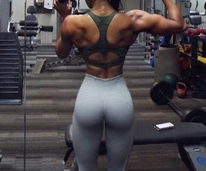 back, fitness, and goals image