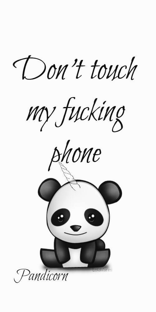 64 Images About Dont Tuch My Phone On We Heart It See