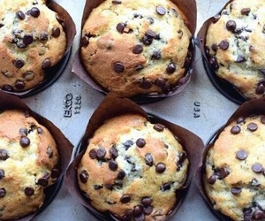 muffin, food, and chocolate image