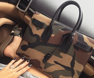 bag, nails, and luxury image