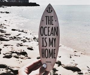 ocean, summer, and beach image