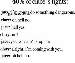 shadowhunters, clace, and funny image