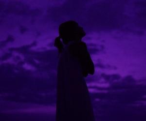 glow, light, and purple image