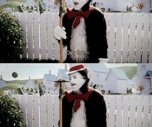 cat in the hat, funny, and movie image