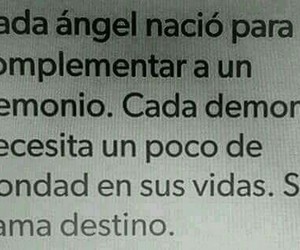 destino, frases, and ángel image