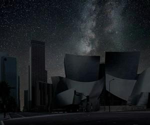 city, night, and stars image