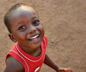 smile, africa, and black image