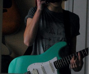 electric, fender, and guitar image