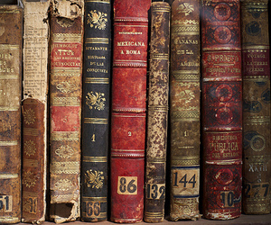 book, vintage, and books image