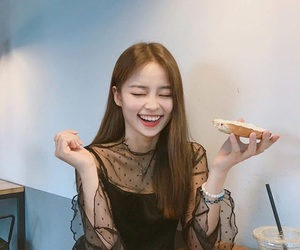 asian, girl, and laugh image