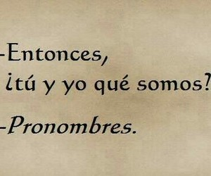 love, frases, and pronombres image