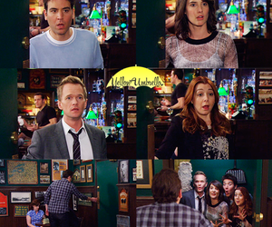 how i met your mother, serie, and tv show image