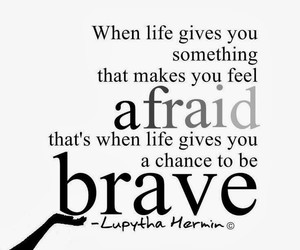 brave, life, and strong image
