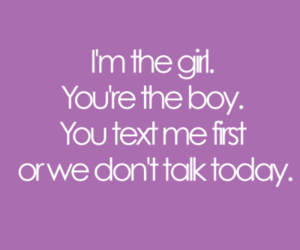 girl, boy, and text image