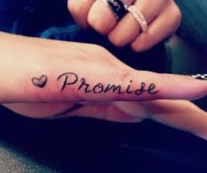 different, promise, and Tattoos image