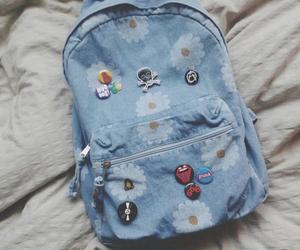 backpack, bag, and fashion image