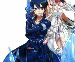 sword art online and SAO image