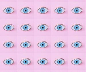 eyes and pastel image