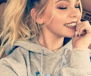 jordyn jones, smile, and selfie image
