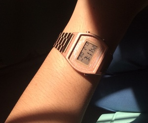 casio, digital watch, and pink image