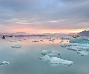 ice, nature, and pastel image