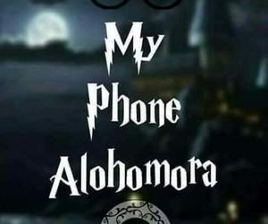 kawaii, phone, and alohomora image