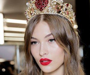 fashion, beauty, and model image