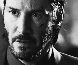 actor, keanu reeves, and john wick image