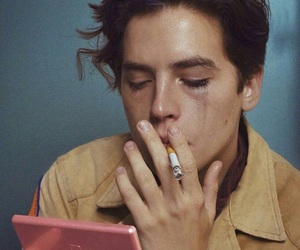 cole sprouse, boy, and grunge image