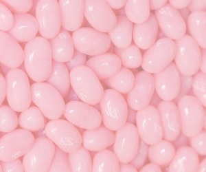 pink, background, and jelly beans image