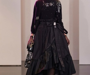 designer, runway, and fashion image