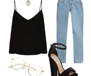 outfit, fashion, and old fashioned image