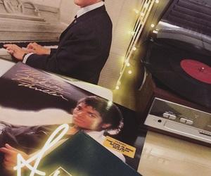 Elvis Presley, michael jackson, and retro image