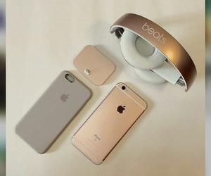apple, silver, and beats image