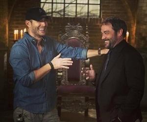Jensen Ackles, supernatural, and crowley image